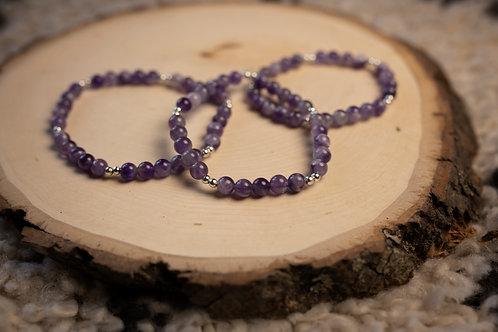 Lace Amethyst Bracelet