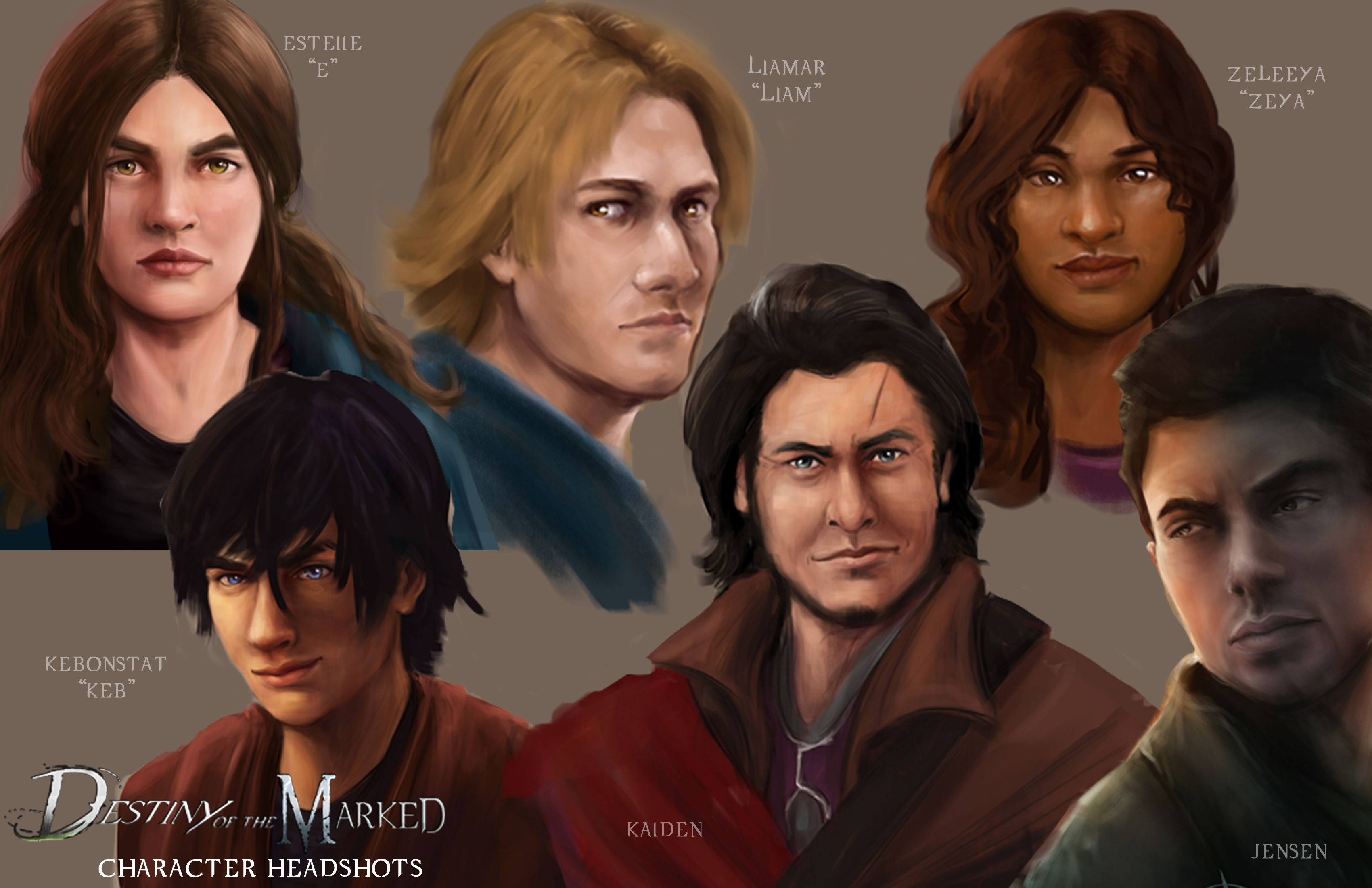 DOTM Characters 2014