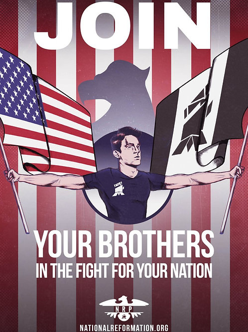 """Fight For Your Nation"" Sticker"