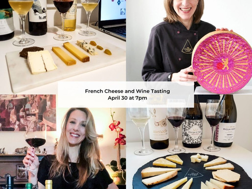 French Wine & Cheese Tasting!