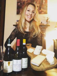 Luisa and cheese.JPG