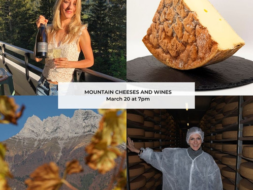 ALPINE JOURNEY: MOUNTAIN WINE AND CHEESE TASTING!
