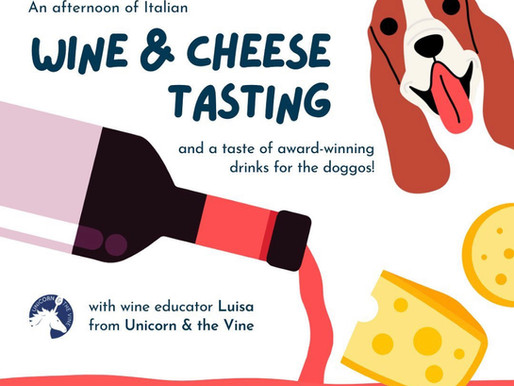 London's first dog friendly wine tasting!