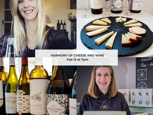 The Harmony of Cheese & Wine Masterclass