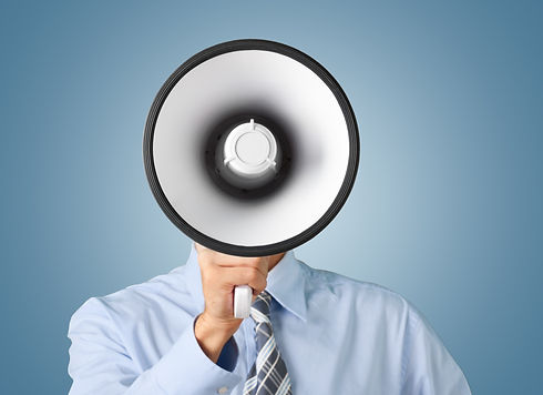 Megaphone, Using Voice, Advertisement..j