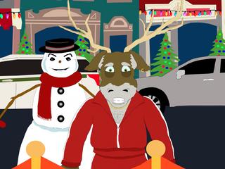 Donner the Reindeer