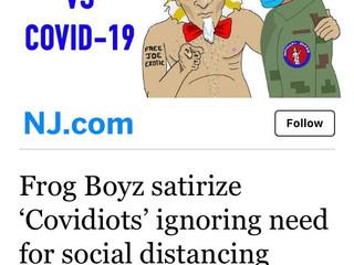 Uncle Sam VS Covid-19 on NJ.com