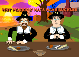 Why Pilgrims' Hats Have Buckles