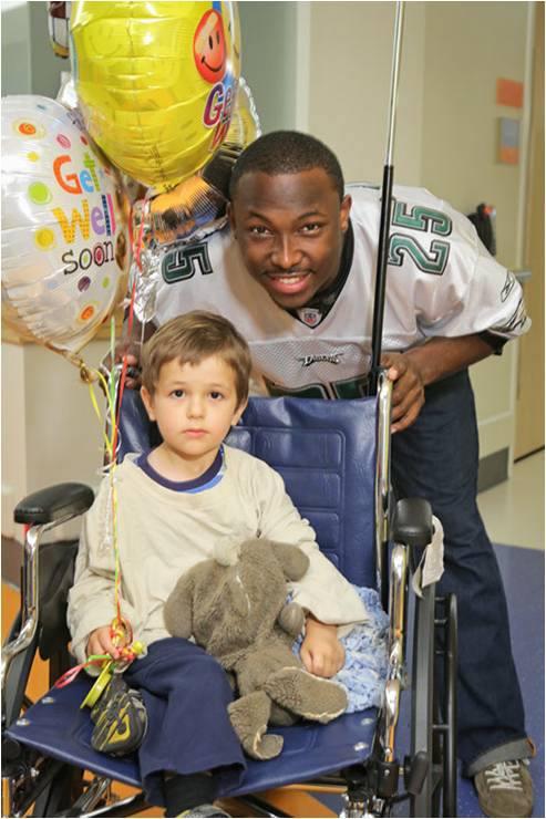LeSean McCoy 2013 PS Hershey Hospital Visit  8.jpg