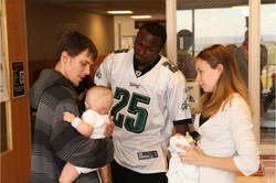 LeSean McCoy 2012 PS Hershey Hospital Visit 2.jpg