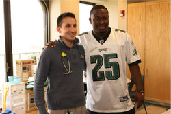 LeSean McCoy 2012 PS Hershey Hospital Visit 4.jpg
