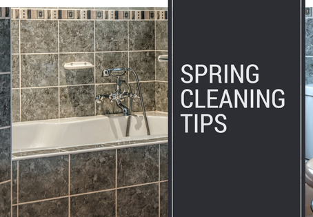 There is spring-cleaning and then there's spring maintenance!