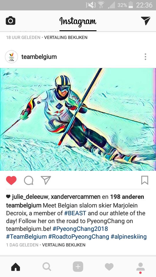 Instagram Team Belgium
