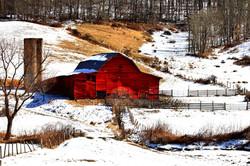 Red Barn by Carol R Montoya Fine Art Photography