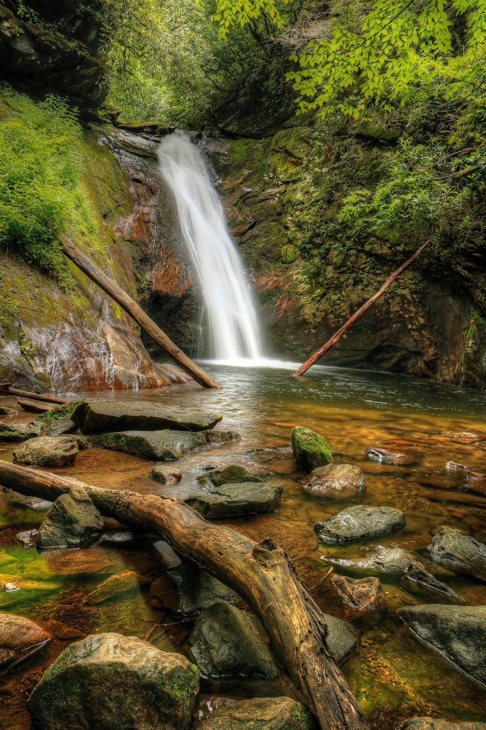 Courthouse Falls by Carol R Montoya Fine Art Photography