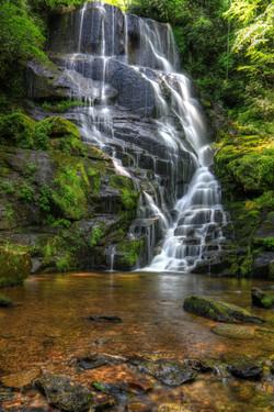 Eastatoe Falls by Carol R Montoya Fine Art Photography