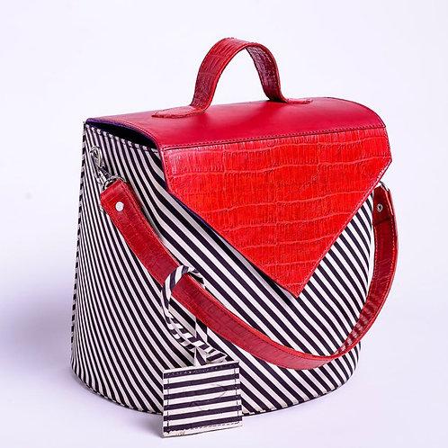 Roda Statement Leather Fatima Handbag Nigeria