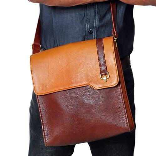 Roda Statement Leather Male Cross Body Bag Nigeria