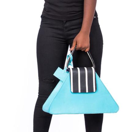 Roda Statement Leather Ojoma Handbag Nigeria