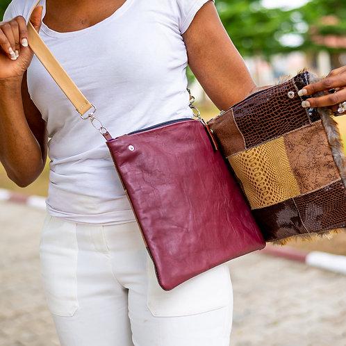 Roda Statement Leather Cross Body Handbag Nigeria