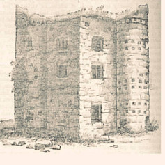 Burt Castle - Drawing from the Illustrat