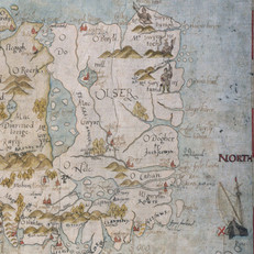 Map - 1567 Ireland by John Goghe