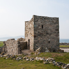 Carrickabraghy Castle NE 2014 09 12 (And