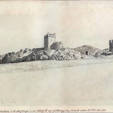 Carrickabraghy Castle Sketch