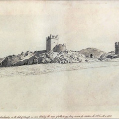 Carrickabraghy Castle Sketch