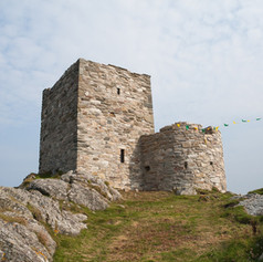 Carrickabraghy Castle SW 2014 09 12 (And