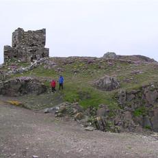 Carrickabraghy Castle, Doagh Island - ge