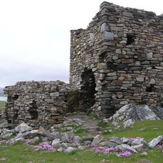 Carrickabraghy Castle (Kenneth  Allen, W