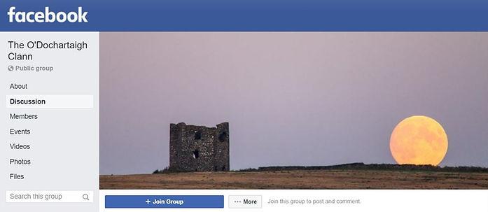 O'Dochartaigh Clann Facebook Group