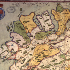 Map - 1602 A Generalle Description of Ulst