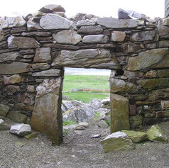 Carrickabraghy Castle, Doagh Island 3 (K