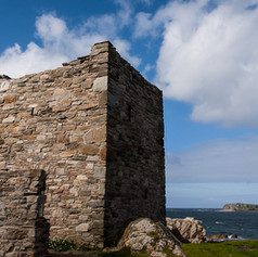 Carrickabraghy Castle & Glasheady Island