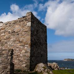 Carrickabraghy Castle & Glasheady Island