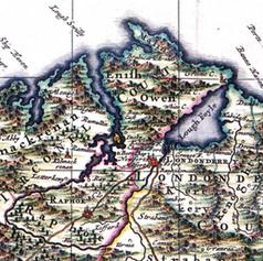 Map - 1689 Hiberiae Regnum tam in praeci