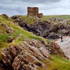 Carrickabraghy Castle, Inishowen, Co. Do