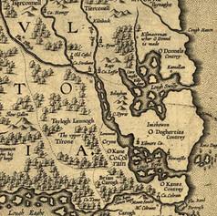 Map - 1606 Baptista Boazio's Irlandiæ.jp