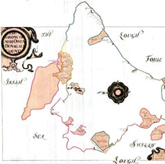 Map - 1653-3 Down Survey Map - Barony of