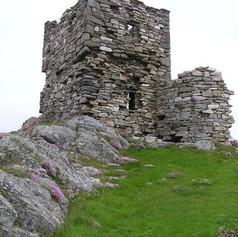 Carrickabraghy Castle, Doagh - geograph.