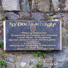 O'Doherty's Keep Memorial (Courtesy of M