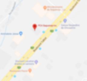 PCA Saguenay - Carte - Avec point rouge