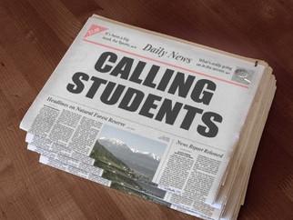 Calling student participants!