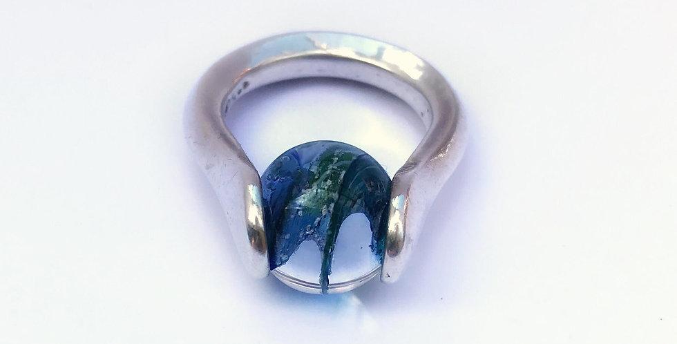 Gaia Lotus Keepsake Ring