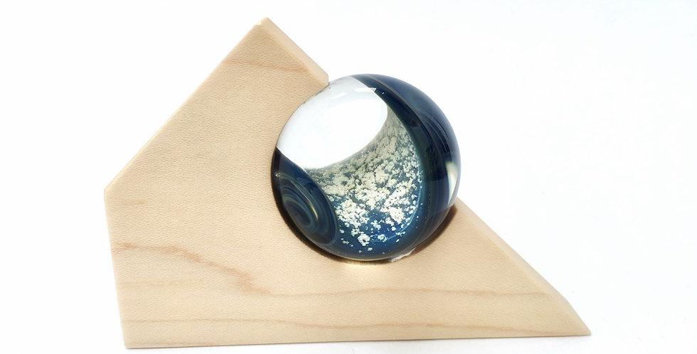 Blue Thunder Memory Marble