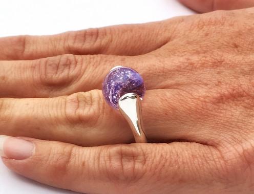 Aura Lotus Ring