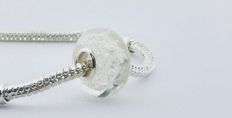 Crystal Clear Classic Pandora Style Bead