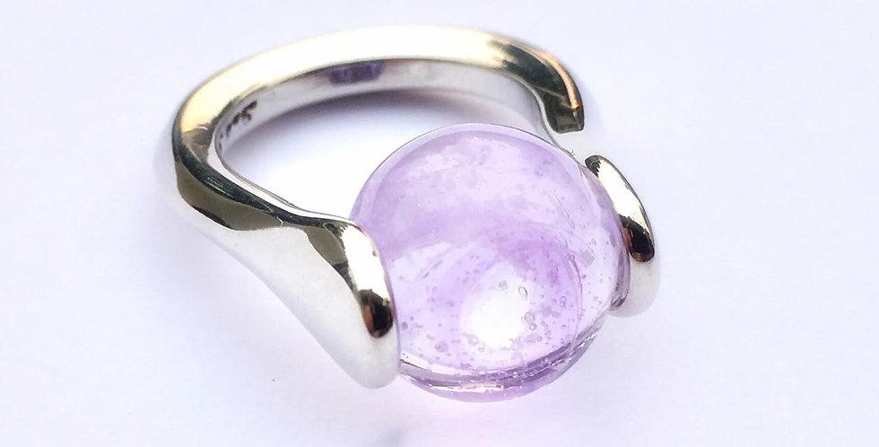 Aura Lotus Keepsake Ring
